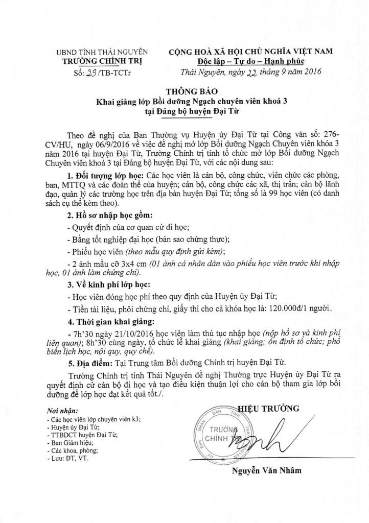TB khai giang QLNN K3 Dai Tu_001